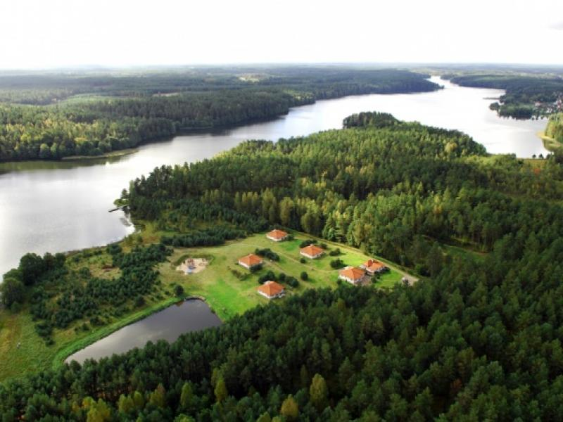 Domki Studzienice Jezioro Kaszuby Sauna pla¿a kominek wêdkowanie -  odkryjPomorze.pl