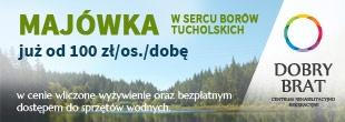 Majówka w Borach Tucholskich