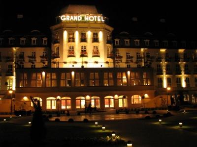 Sopot Grand Hotel - nocą