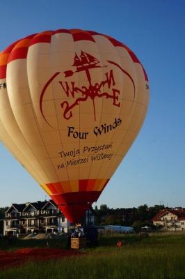 Loty balonem nad morzem - Four Winds Piaski