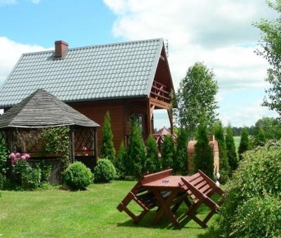 Domek ad jeziorem na Kaszubach - Choszczogród