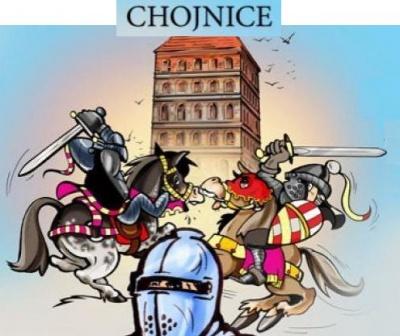 Oblê¿enie Chojnic - turniej rycerski