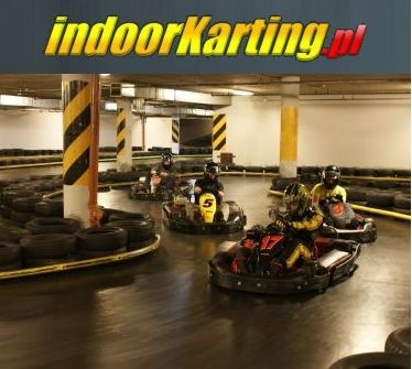 Gokarty Gdañsk - tor kartingowy IndoorKarting