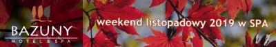 Weekend listopadowy 2019