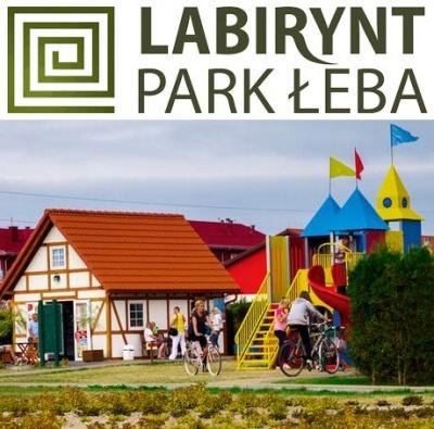 Labirynt Park £eba - plac zabaw nad morzem