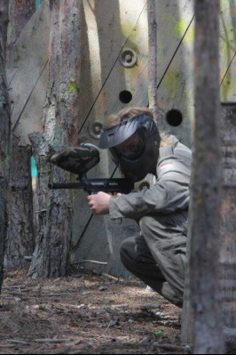 Paintball na poligonie Adventure Park